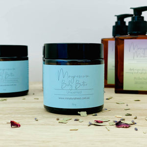 Magnesium Body Butter {Unscented}