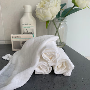 Bamboo Muslin Wash Cloth