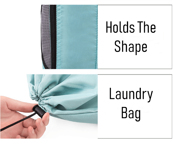 Laundry bag for traveling