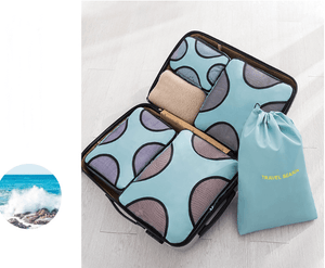 Vacation travel packing cubes