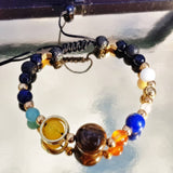 Cosmic energy bracelet closeup