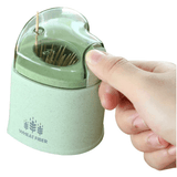 Automatic Eco toothpick dispenser made from wheat fiber