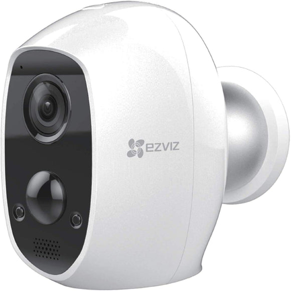 EZVIZ C3A Outdoor Battery Powered Security Camera - 100% Wire-Free