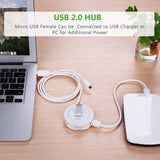 UGREEN USB 2.0 Hub 4 Ports with OTG