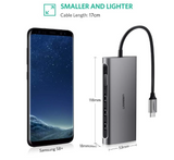 UGREEN 50539 USB Type C 8 in 1 Multifultion adaptor