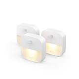 eufy Lumi Stick-On Night Light, 3-Pack