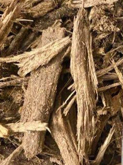 MULCH, NATURAL SHREDDED HARDWOOD BAGGED