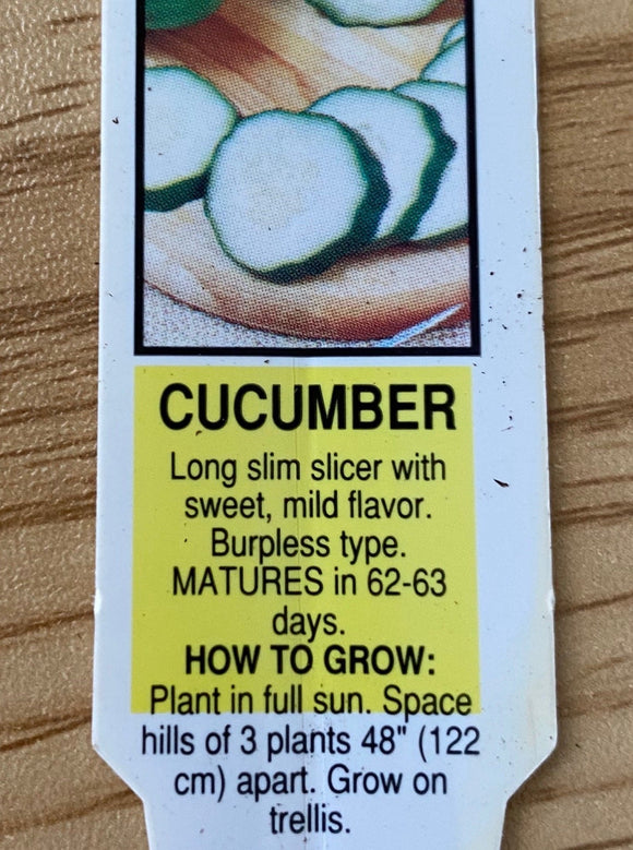 CUCUMBER, SWEET SLICE