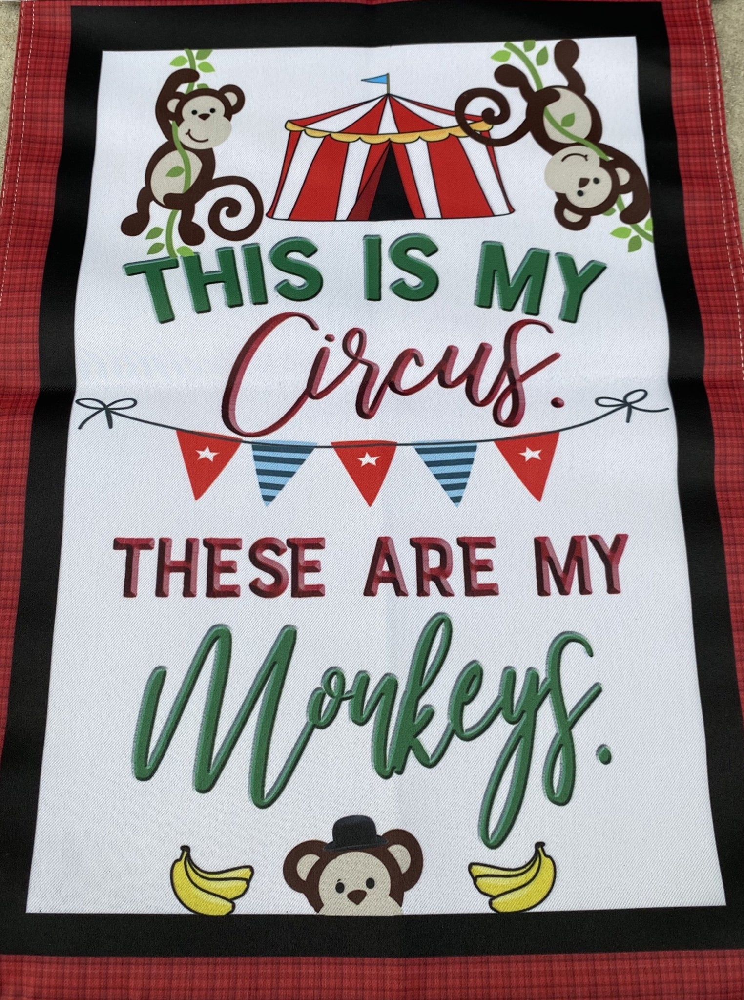 FLAG, THIS IS MY CIRCUS