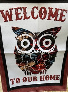 FLAG, WELCOME OWL