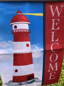 FLAG, WELCOME LIGHTHOUSE