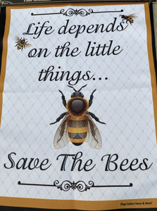 FLAG, SAVE THE BEES
