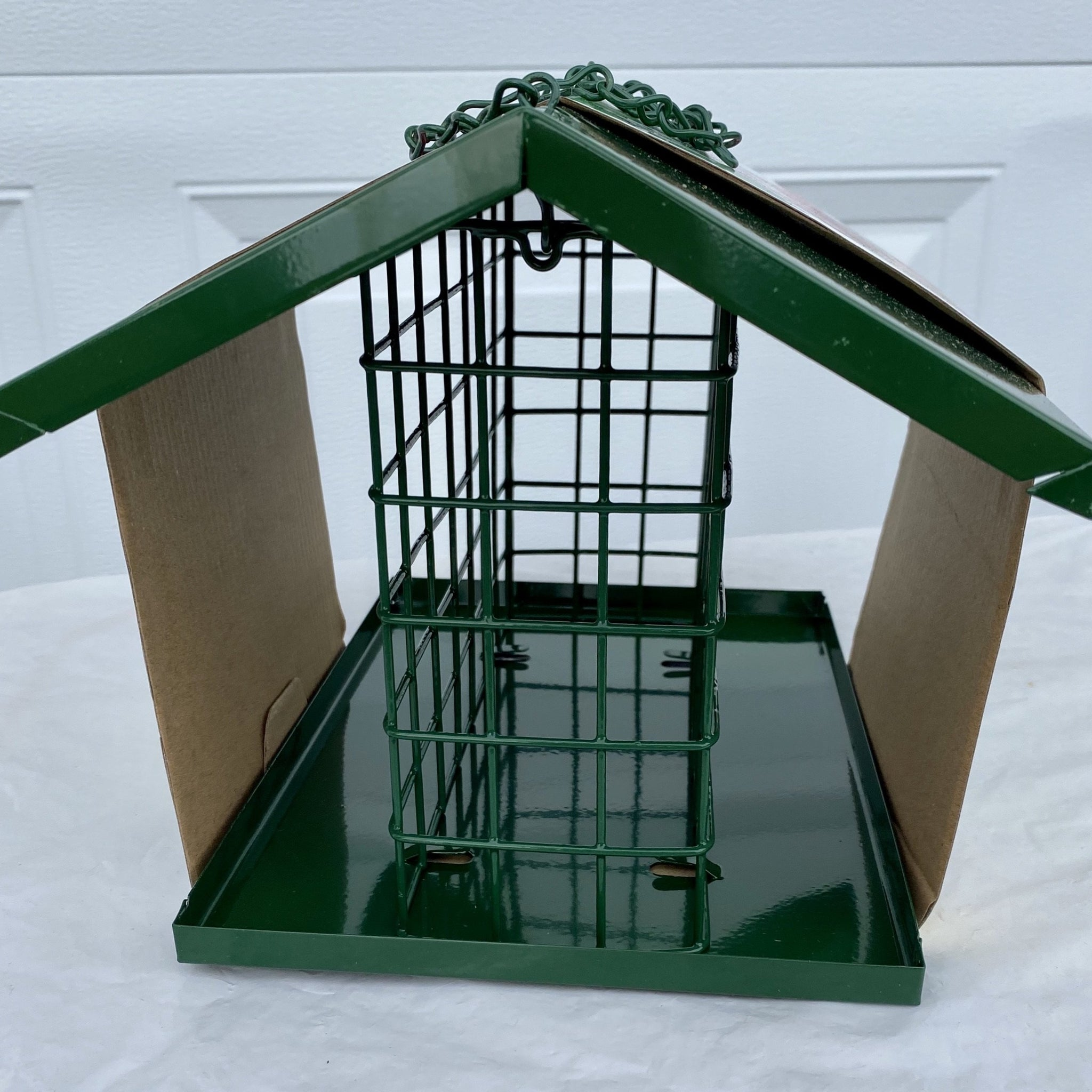 BIRD FEEDER, EZ FILL DELUXE SNAK / SUET FEEDER