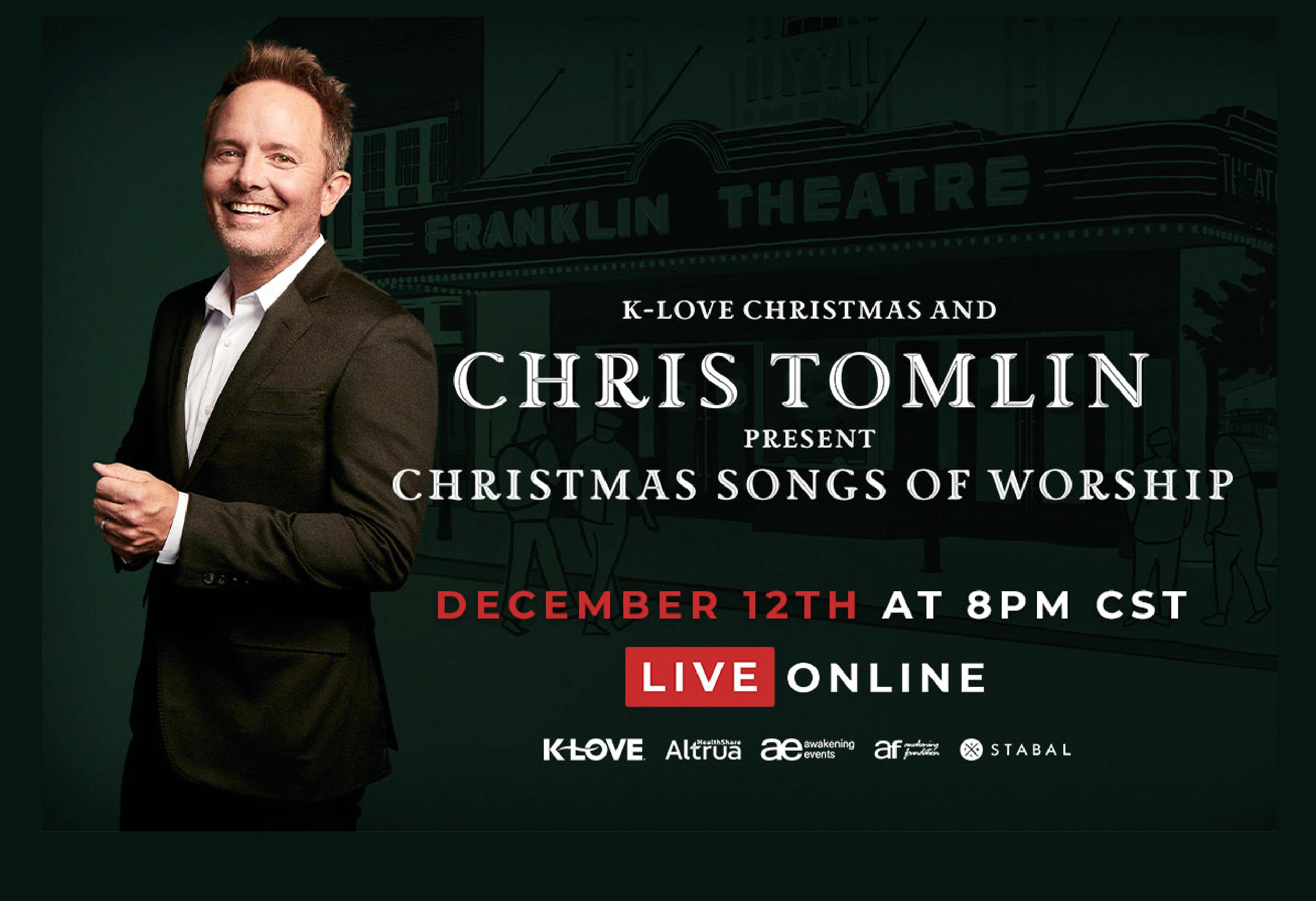 Who Is The Minster At The 2021 Klove Christmas Tour K Love Christmas Chris Tomlin Present Christmas Songs Of Worship News Chris Tomlin