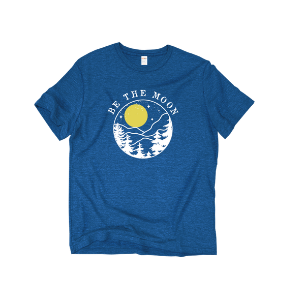 Be The Moon Blue T-Shirt
