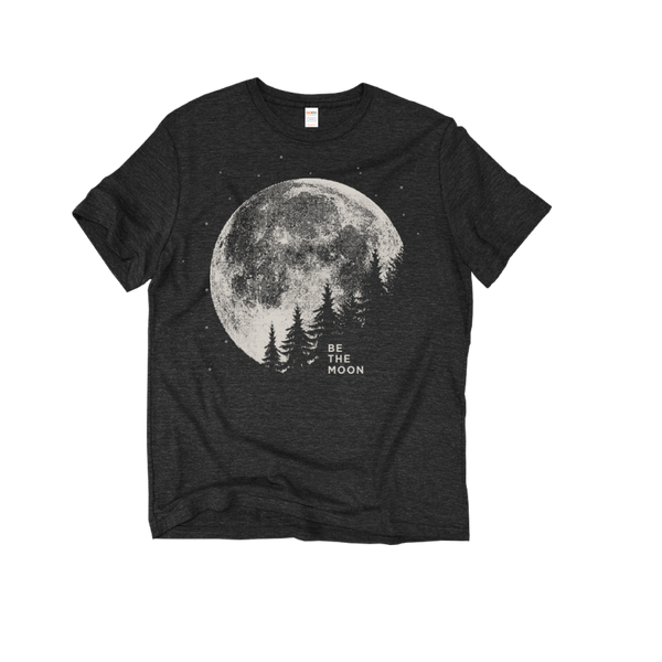 Be The Moon Black T-Shirt