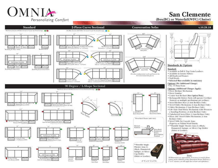Omnia San Clemente - leatherfurniture