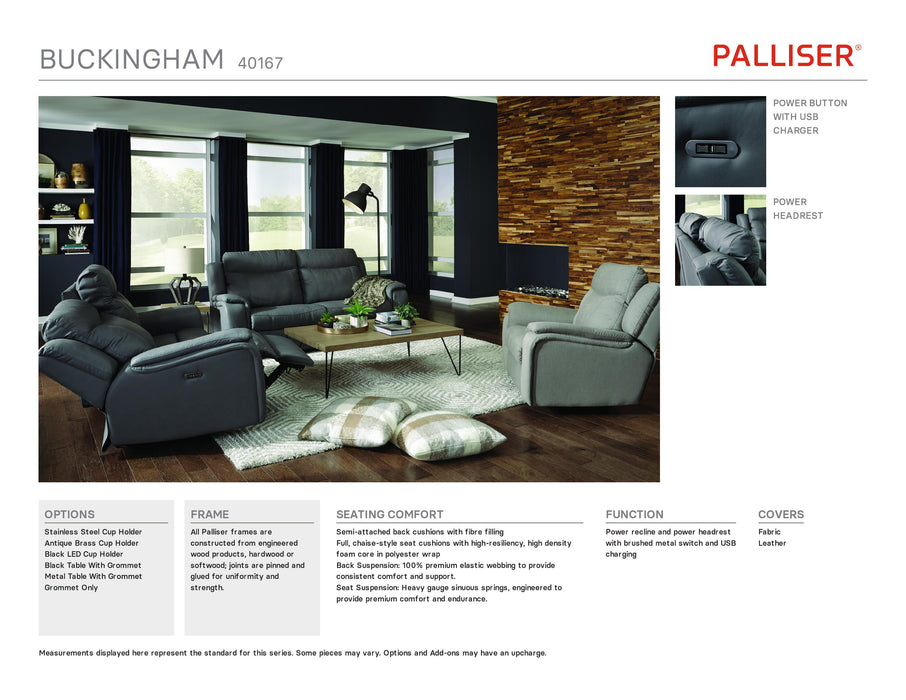 Palliser Buckingham Sofa 40167