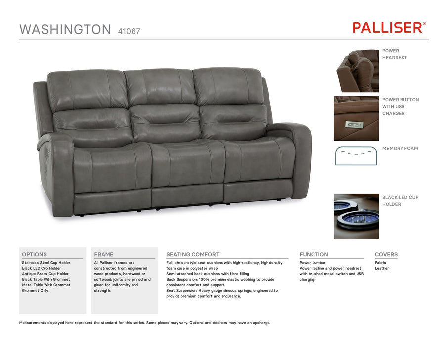 Palliser Washington Sofa 41067