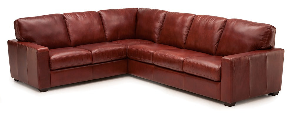 Westend - Left arm loveseat and right arm sofa w/ return front view