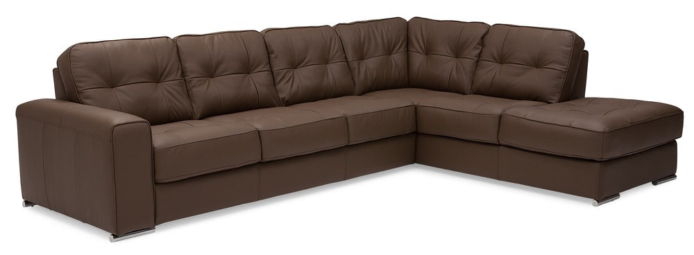 Ottawa - Left Arm Sofa, Right Arm Chaise right front view