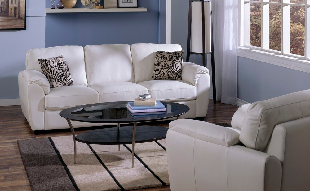 Lanza - example living room w/ 3 cushion sofa and Armchair
