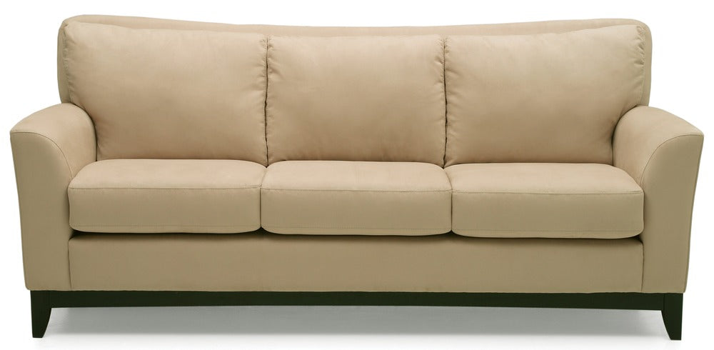 India - 3 cushion sofa front view