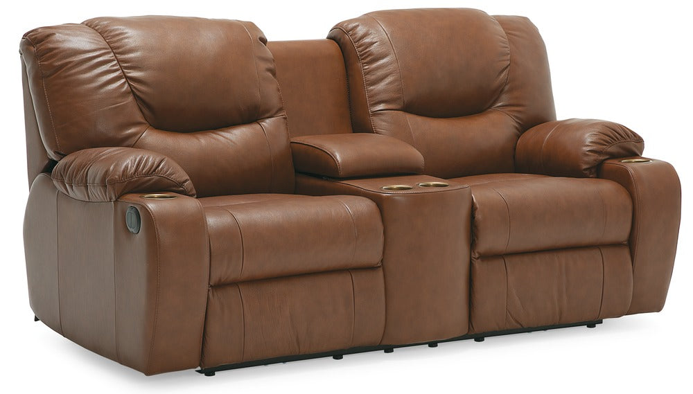 Dugan - Powered Reclining Loveseat Right front view