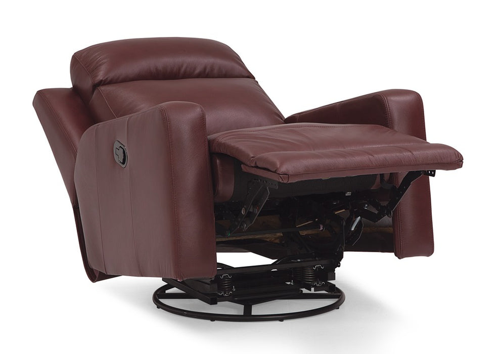 Forest Hill - Powered Reclining Rocker reclined right front view