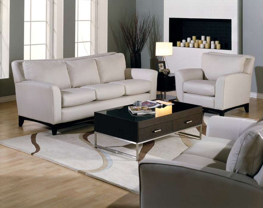 India - example living room w/ 3 cushion sofa and Armchair