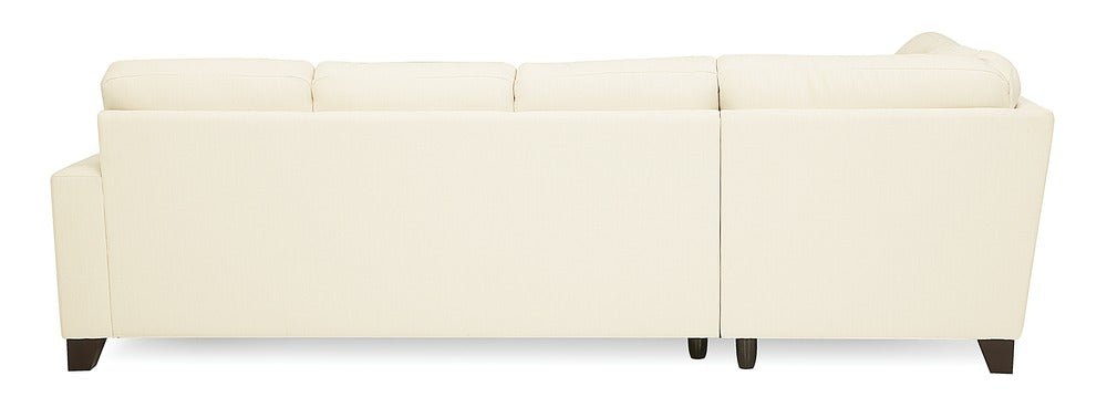 Creighton - Left Arm Chaise, Right Arm Sofa rear view