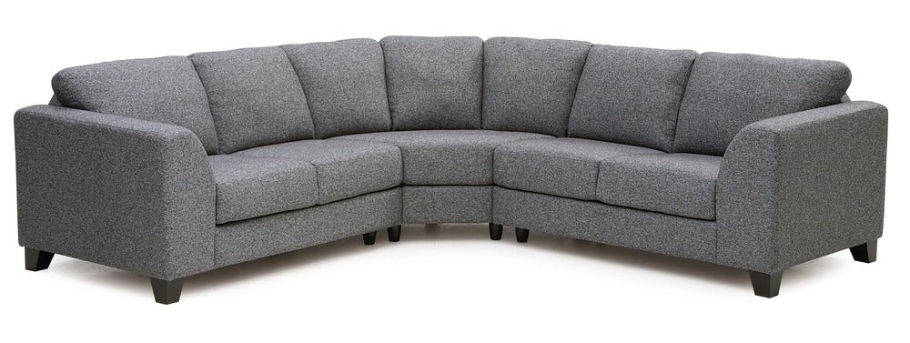 Juno - Left Arm Sofa. Right Arm  Sofa W/ Return front view