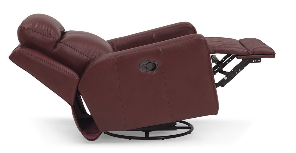 Forest Hill - Powered Reclining Rocker reclined side view
