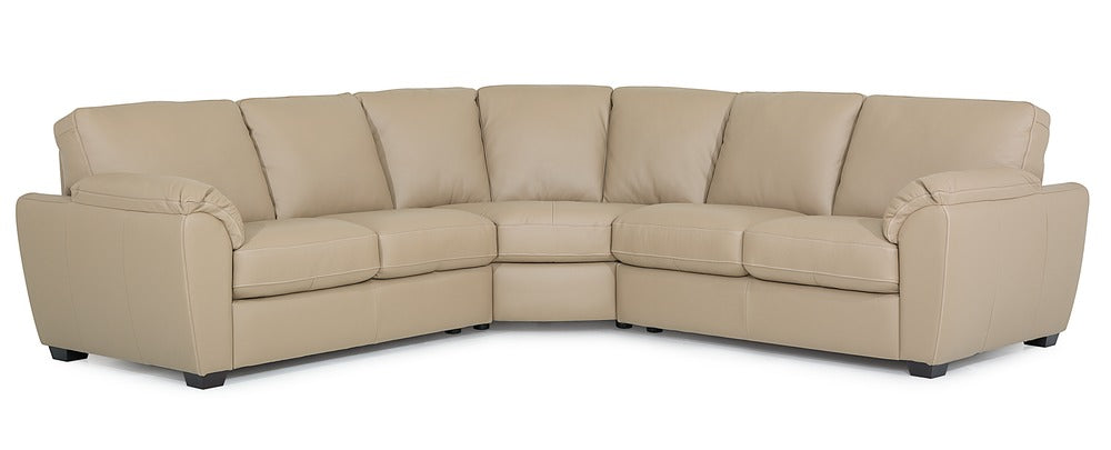 Lanza - Left Arm Sofa, Corner Curve, Right Arm Sofa front view