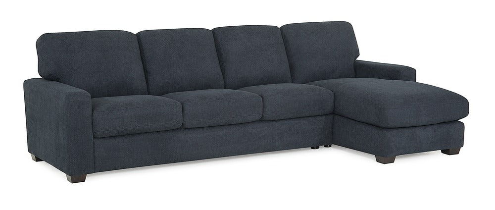 Westend - Left Arm Sofa and Right Arm Chaise front view