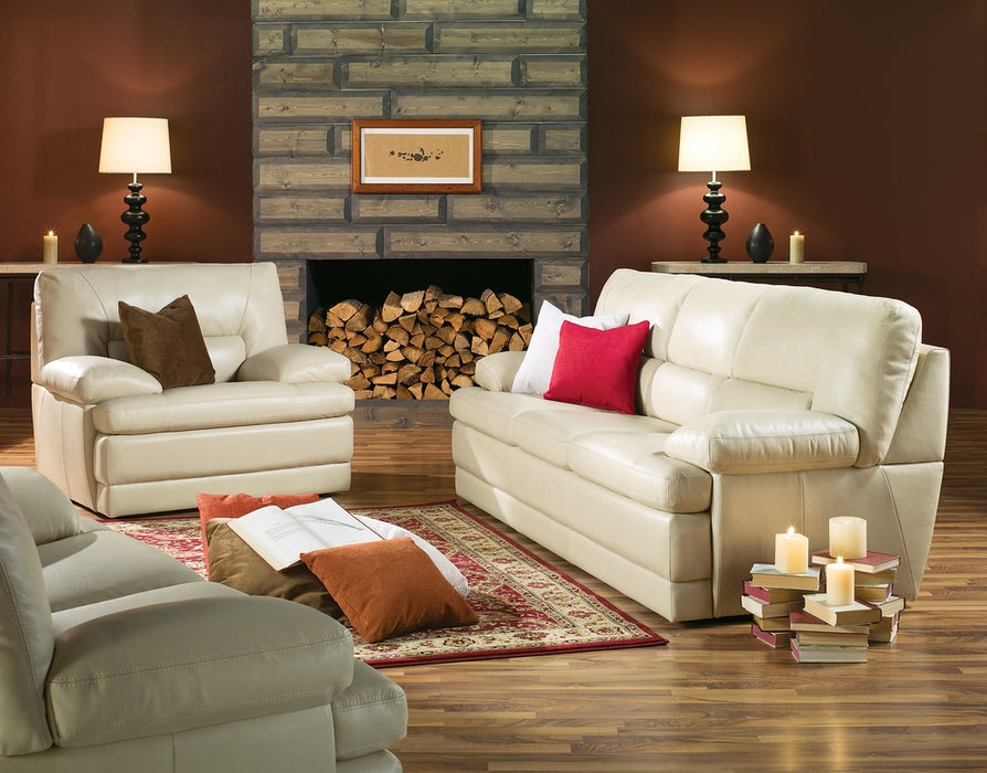Northbrook - example living room w/ 3 cushion sofa, Loveseat and Armchair