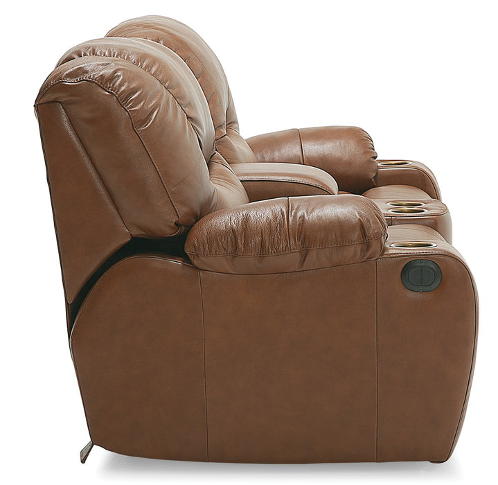 Dugan - Powered Reclining Loveseat side view