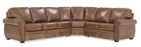 Viceroy - Left Arm Sofa w/ return and Right Arm Loveseat front view
