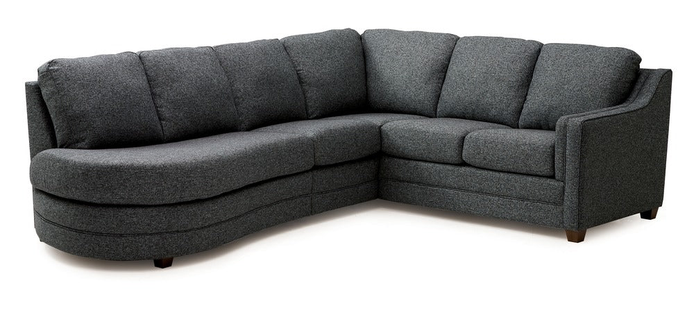 Corissa - Left Arm Chaise, Right Arm Sofa front view