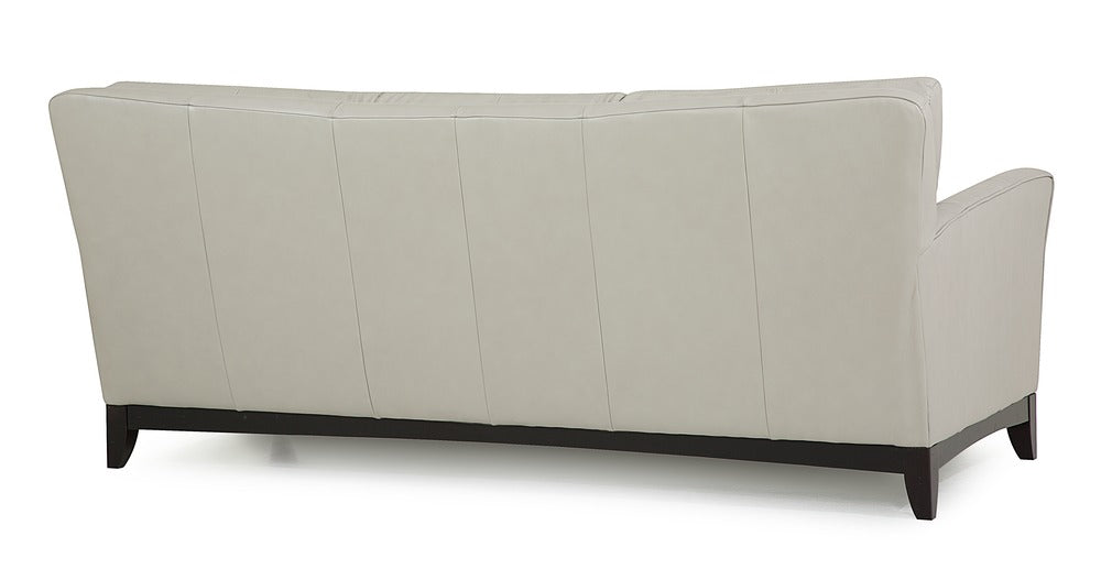 India - 3 cushion sofa rear view