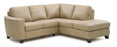 Leeds - Right hand loveseat, corner wedge, left hand armless chair and chaise