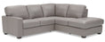 Westend - Left Arm Sofa w/ return and Right Arm Chaise front view