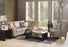 Leeds - example living room w/ Right hand loveseat, corner wedge, left hand armless chair and chaise