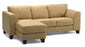 Juno - Left Arm Chaise. Right Arm Sofa front view