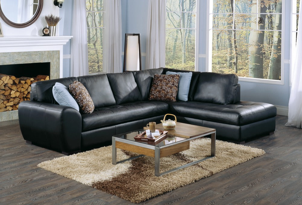 Kelowna - example living room w/ Left Arm Sofa, Right Arm Chaise