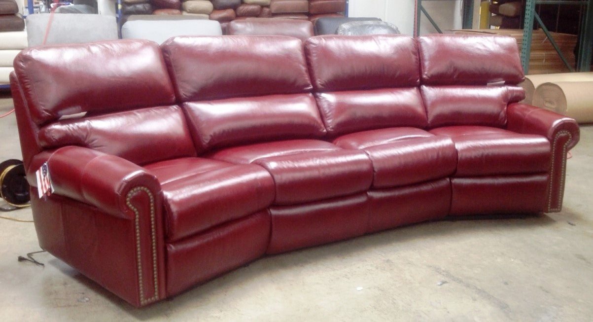 Omnia Connor Sectional - leatherfurniture
