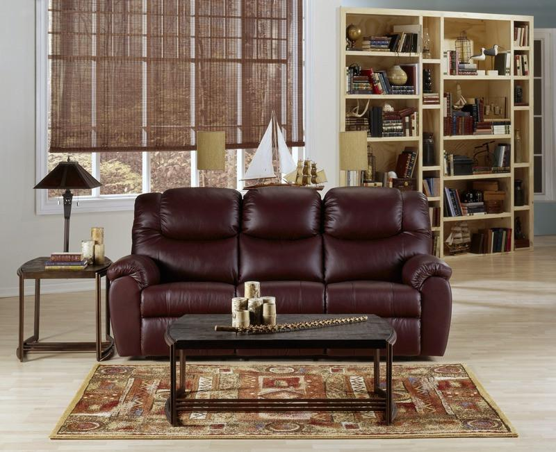 Regent - example living room w/ Powered Reclining Sofa