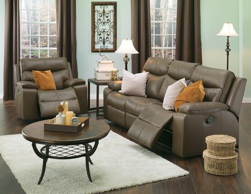 Providence - example living room w/ Powered Reclining Sofa and Armchair