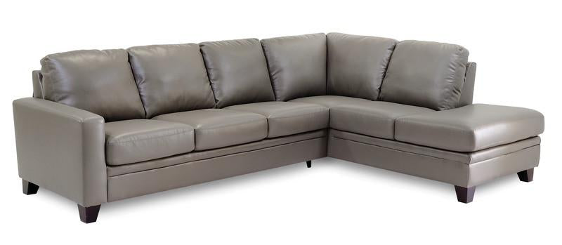 Creighton - Left Arm Sofa, Right Arm Chaise front view