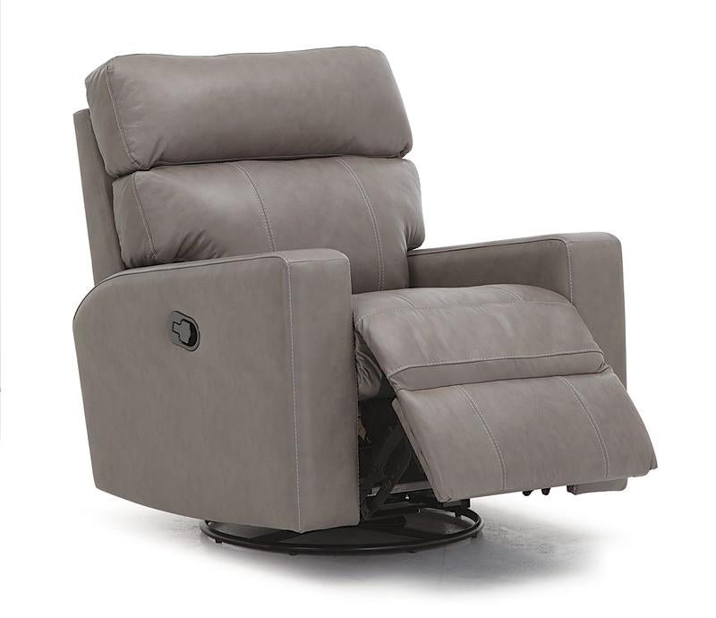 Oakwood - Powered Recliner reclining right front view